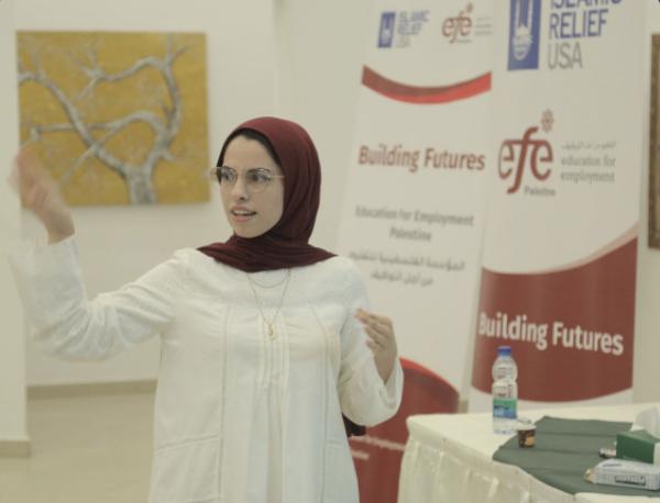 مركز رياديات الأعمال بغزة يختتم تدريب ريادة الأعمال السابع