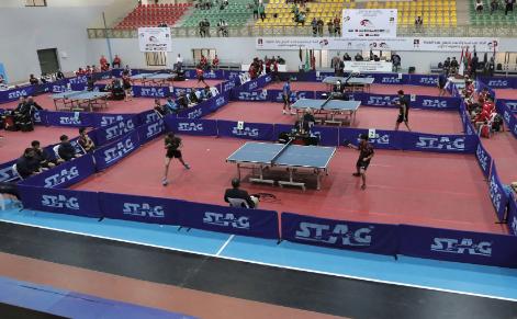 3 لاعبين و4 حكام يمثلون فلسطين في بطولة آسيا لكرة الطاولة