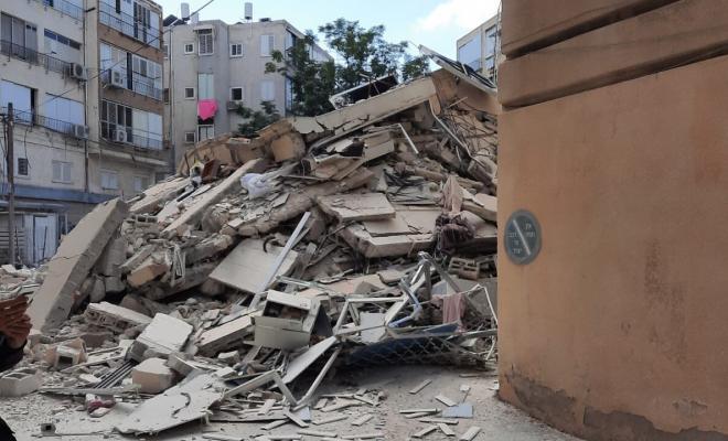 وسائل عبرية تكشف قيمة التعويضات للعائلات التي انهار مبناها في تل أبيب