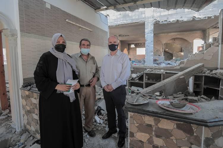 لجنة حصر الأضرار لمصدر: تلقينا 430 اعتراضا على تقييمات أضرار عدوان 2021