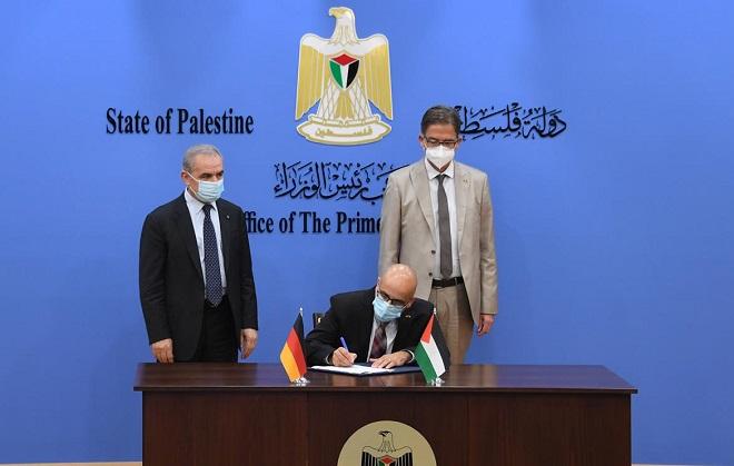 ألمانيا تتعهد بدعم فلسطين بأكثر من 100 مليون يورو لمدة عامين
