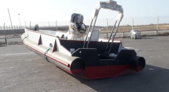 إدخال قارب أبحاث بحرية لقطاع غزة وهذه مهامه