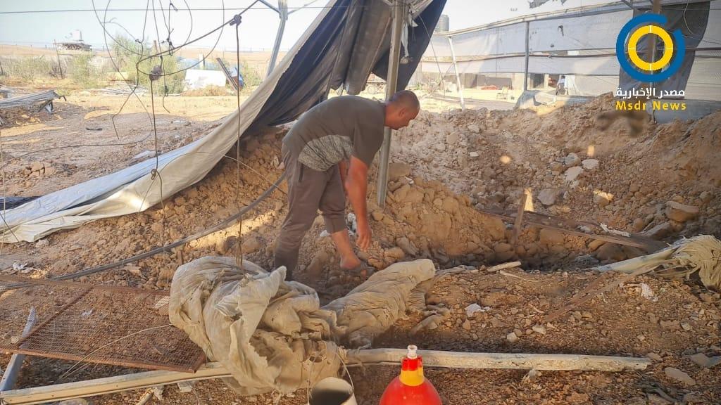 أضرار في مزرعة للدواجن إثر قصف الاحتلال لغزة (صور)