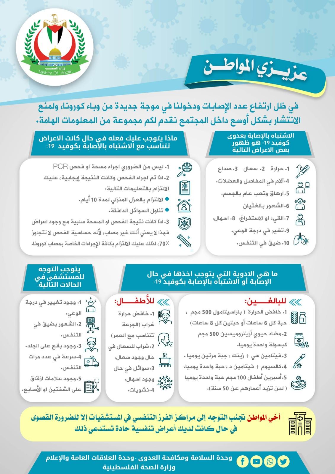 توجيهات من صحة غزة